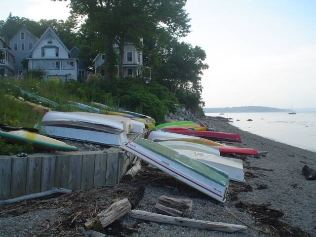 Bayside Boats on the Beach
